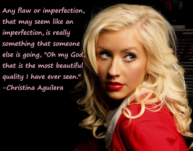 Christina Aguilera quo... Christina Aguilera Beautiful