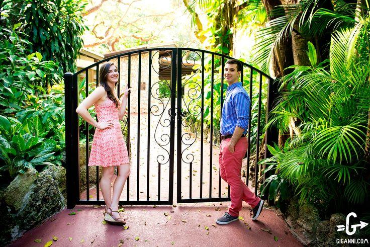 Pinecrest Gardens Miami Engagement Photos