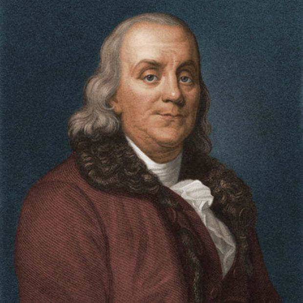Benjamin Franklin - 1775...appointed 1st Postmaster General in America (July 26th, 1775.)