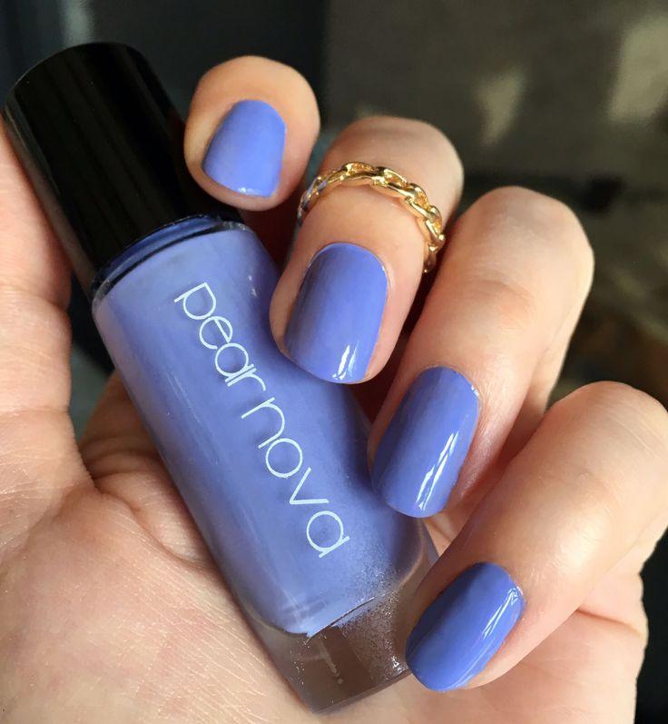 Water Marble Nail Polish Brands India: Nails Of The Day: Pear Nova 'Blue Magic' : Vegan Beauty