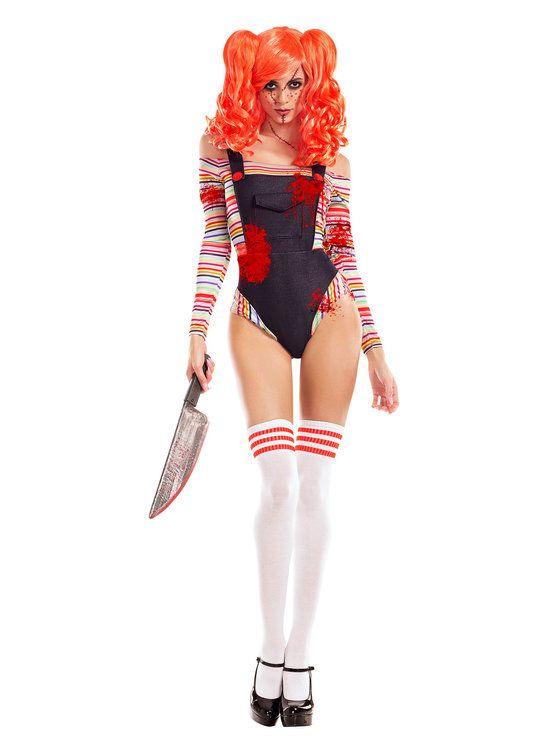 Women's Sexy Killer Doll Costume