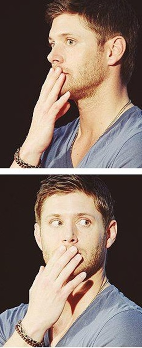 Jensen Ackles you are too cute
