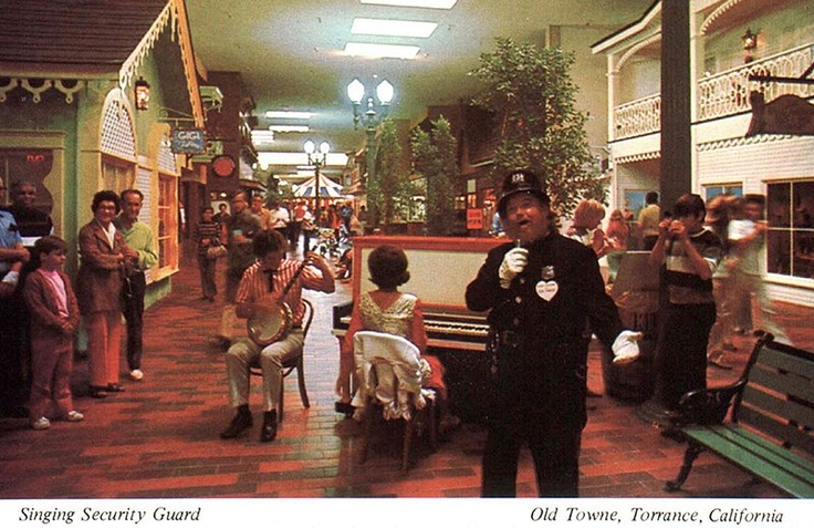 The strangely wonderful Olde Towne Mall in Torrance, CA