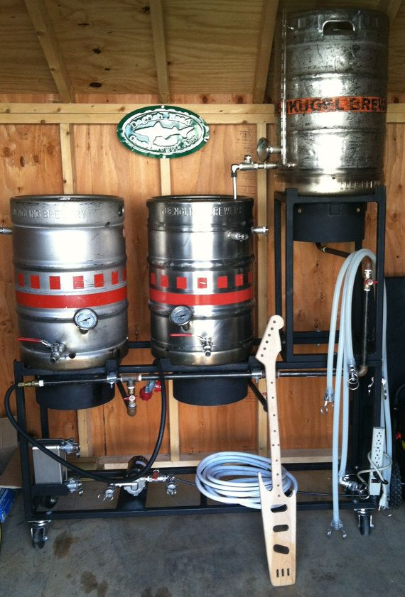 17 best images about brew stands on pinterest kettle for Craft kettle brewing equipment