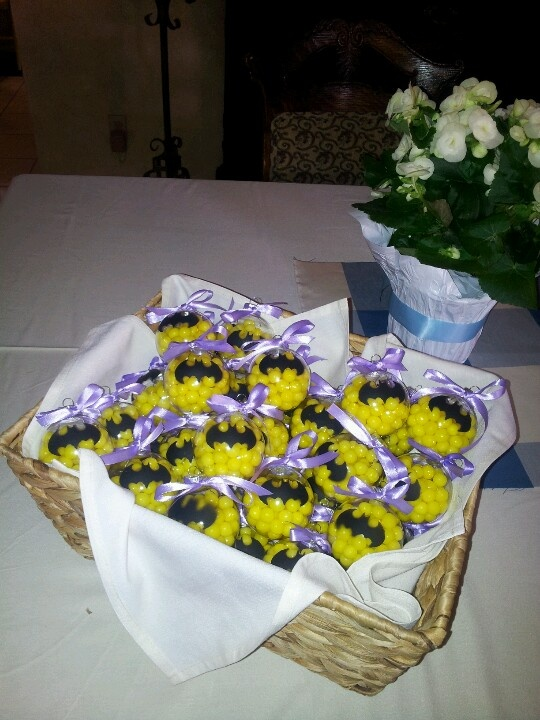 Baby Boy Baby Shower Gifts, But With Blueberry And Tangerine Flavors :)
