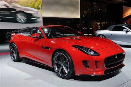 Beautiful Red 2013 Jaguar F Type