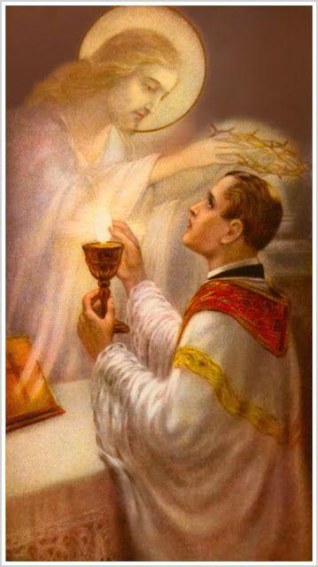 """Cum Petro et sub Petro: Semper: Assim Era o Pensamento e a Conduta da Igreja em 19...  """"O Sacramento do Altar não seja celebrado senão pelo homem em jejum"""" (Conc. de Hipona, cân. 28; Mansi, III, 923. A.D. 393).  """"A Santíssima Eucaristia é sempre recebida por pessoas em jejum, e este costume é universal"""" (S. Agostinho, Epist., LVI ad Ian., cap. 6; Migne, PL XXXIII, 203. Início do século V)."""