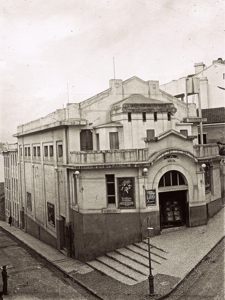 Rua Barão de Sabrosa, ao Alto do Pina, Lisboa, 1927