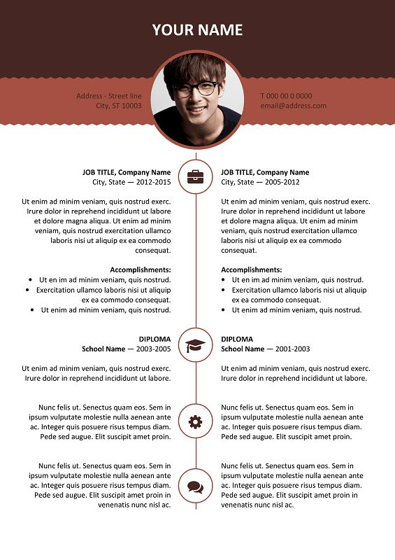 Best Resume  Cv Templates Images On