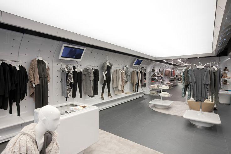 Frankfurt germany stefanel retail interior design for Interior design frankfurt