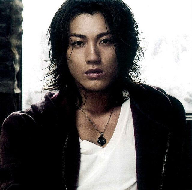 Jin Akanishi Japanese singer/songwriter/musician and actor. He's cute