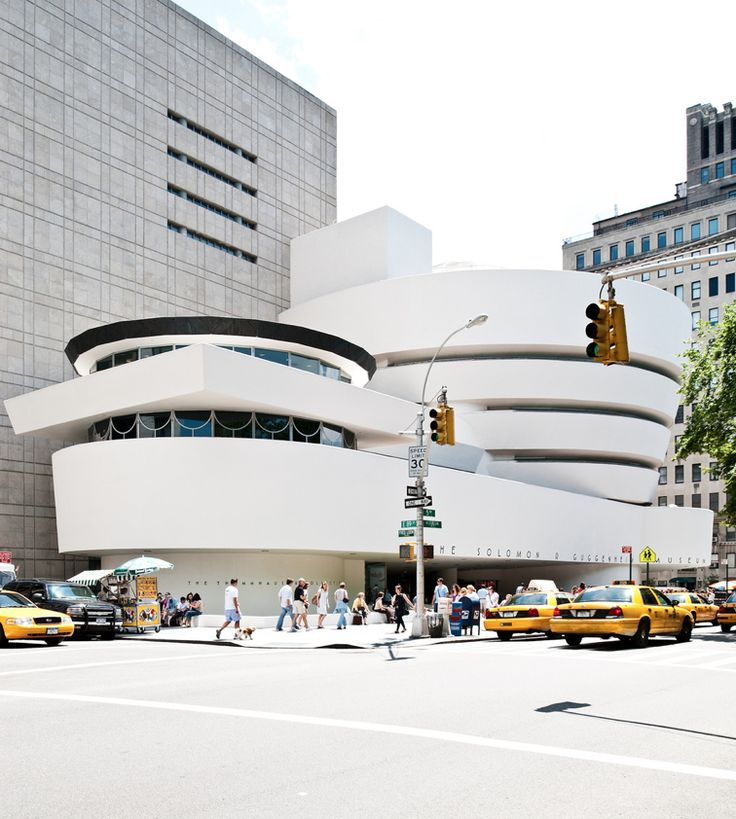 Guggenheim...just because its soooooo cooool!! And right across the street from Central Park!!: