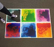 Liquid Floor Tiles, 50 x 50cm - Set of 6