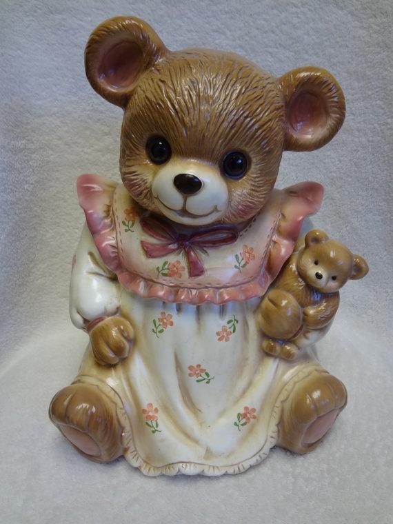 'Baby Bear' Cookie Jar (Japan)