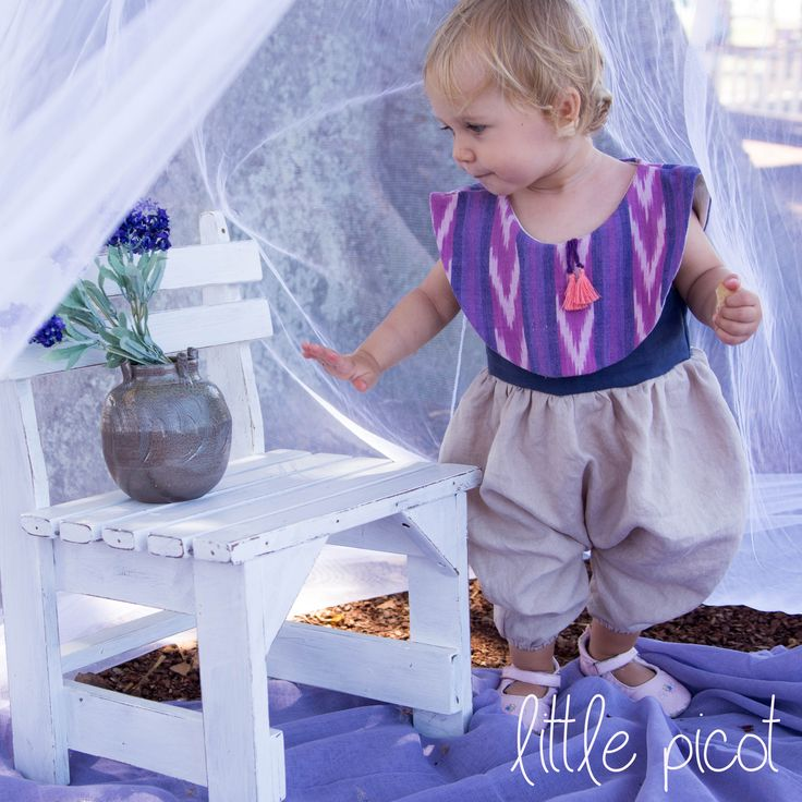 little picot A/W 15 - The Jimena Jumpsuit! Whimsical Eco-Friendly Clothing for little girls.  Lovingly handmade in Australia!