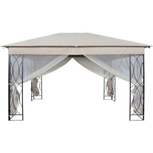 Foster Gazebo With Privacy Screen 10 X 13