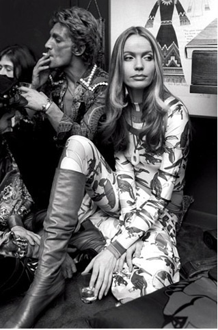 Talitha Getty in Sant'Angelo