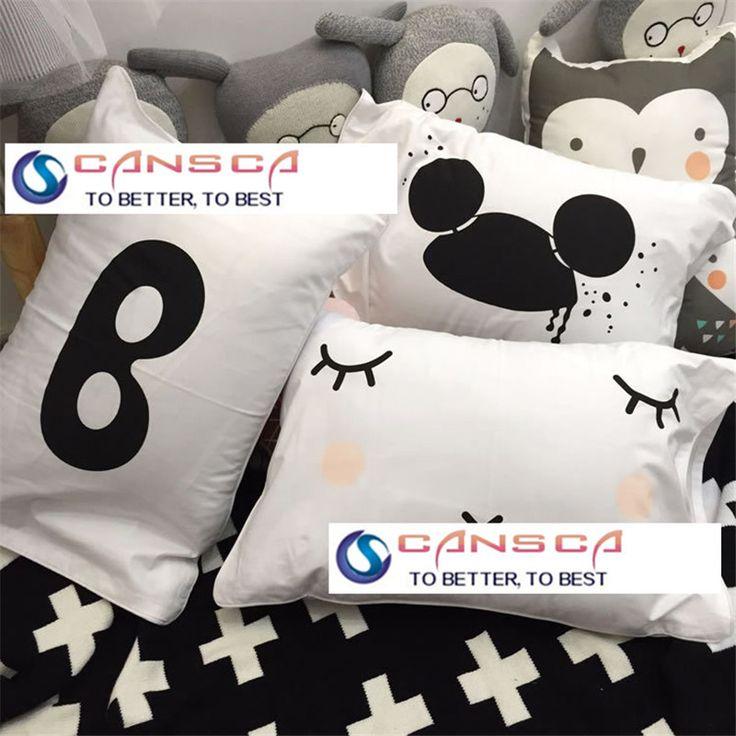 1 stuks kleine 50x35cm superheld zwart wit stijl baby katoenen kussensloop bril geval voor huishoudelijke decoratieve kussenslopen # 20 in Meer...........................u zult genieten van           van kussensloop op AliExpress.com | Alibaba Groep