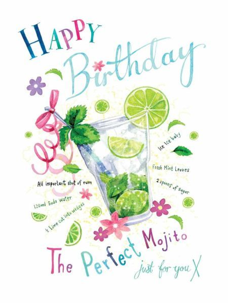 Très 717 best Saluditos images on Pinterest | Birthday cards, Birthday  ZB66