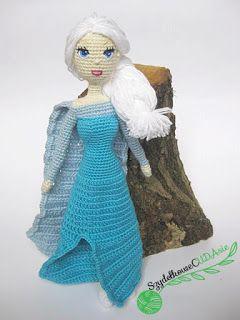 Szydełkowa Elsa w 7 dni
