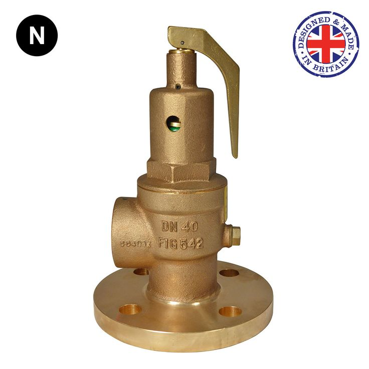 Nabic Fig 542F Flanged Safety Relief Valve
