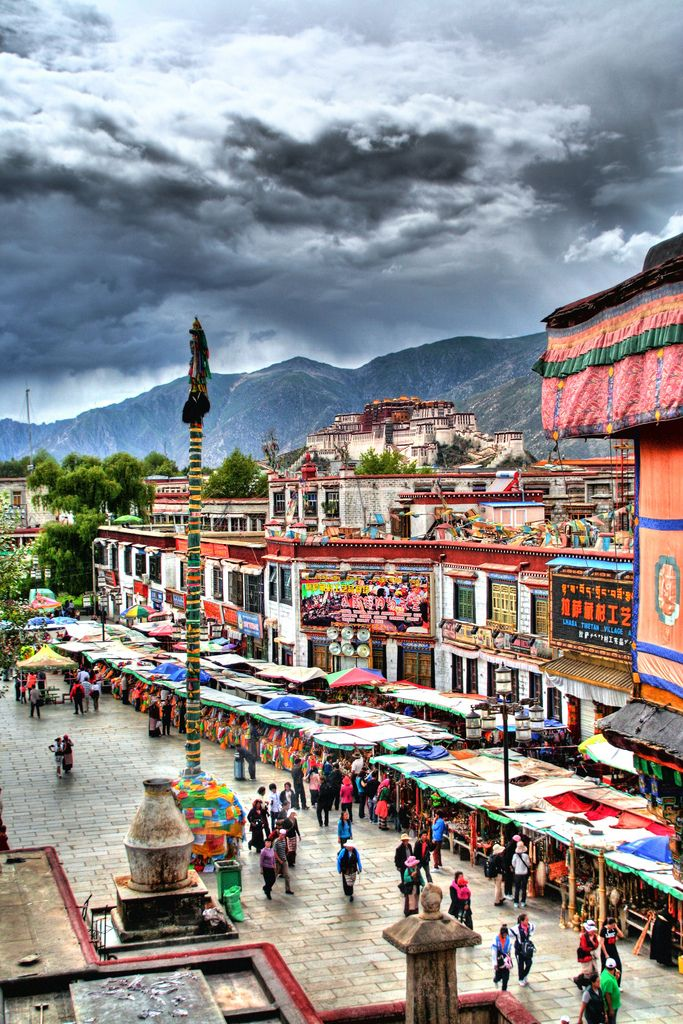 Lhasa, Tibet. Deep in the spectacular Himalayan Mountains, Lhasa is a jewel of a destination. Potala Palace, the former residence of the Dalai Lama, is a major attraction, but you'll also find numerous important temples and even the world's highest brewery.