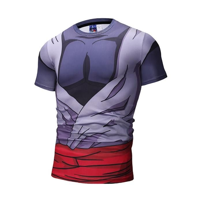daa2f6c36d337a Dragon Ball Super Goku Black Torn Up Wounded Compression T-Shirt #dbz # dragonball #anime #compressionshirt #goku