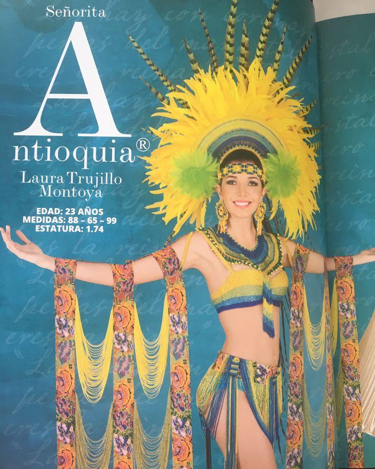 Señorita Antioquia Laura Trujillo Montoya