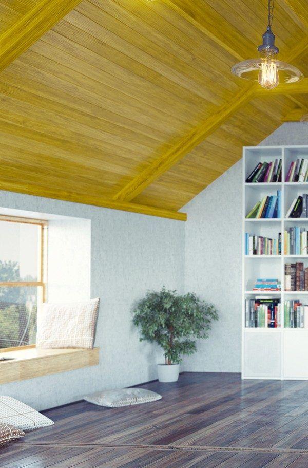 Holzdecke streichen: Auf YouJustDo.de zeigen wir dir Schritt für Schritt, wie du deine Holzdecke richtig streichst.