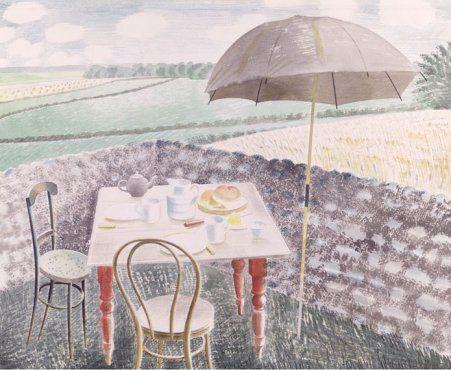 Eric Ravillious, Tea at Furlongs
