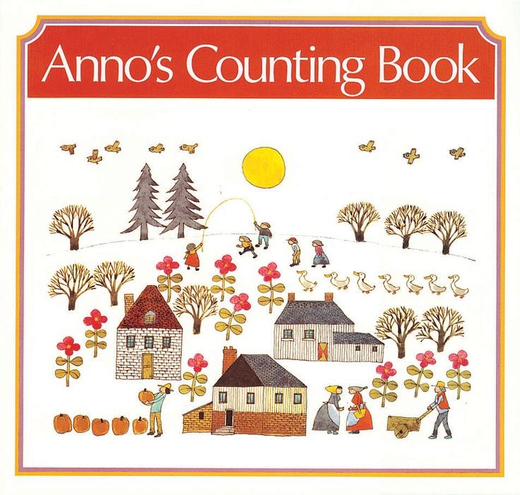 Anno's Counting Book - Mitsumasa Anno, 1975 (cover)