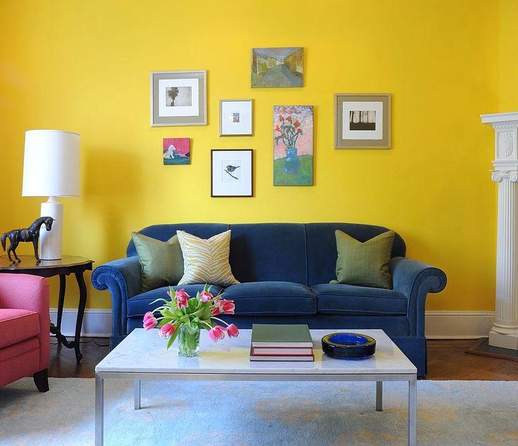 Warna Cat Ruang Tamu Yang Bagus Warna Kuning