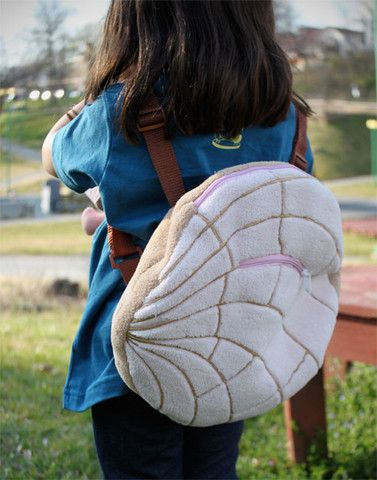Sweet! Pan dulce concha backpack $14.50