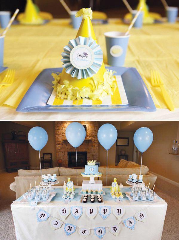 Un premier anniversaire sur le thème du Petit Prince
