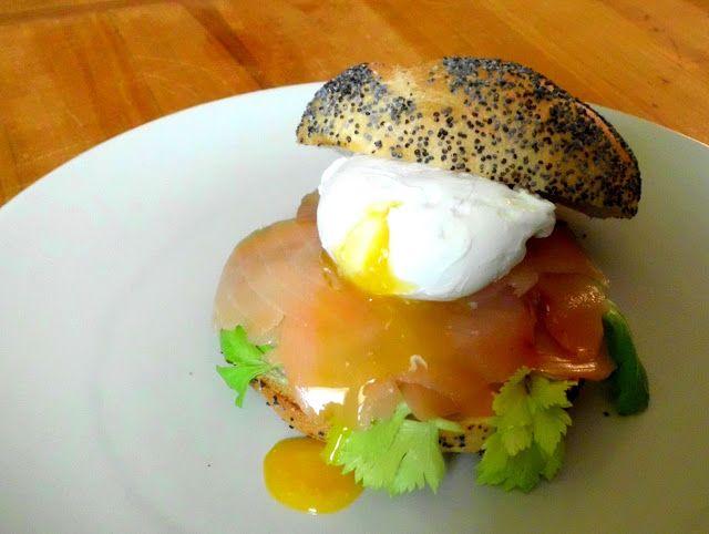 S vášní pro jídlo: Pošírované vejce s uzeným lososem