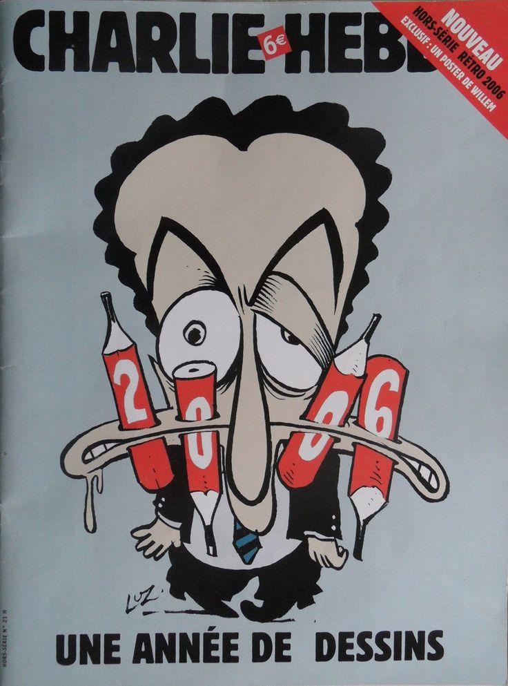 Charlie Hebdo - Hors Série # 21 - Une Année de Dessins - Janvier 2007 - Couverture : Luz