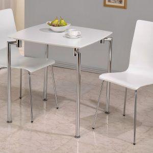 Small Rectangular White Kitchen Table