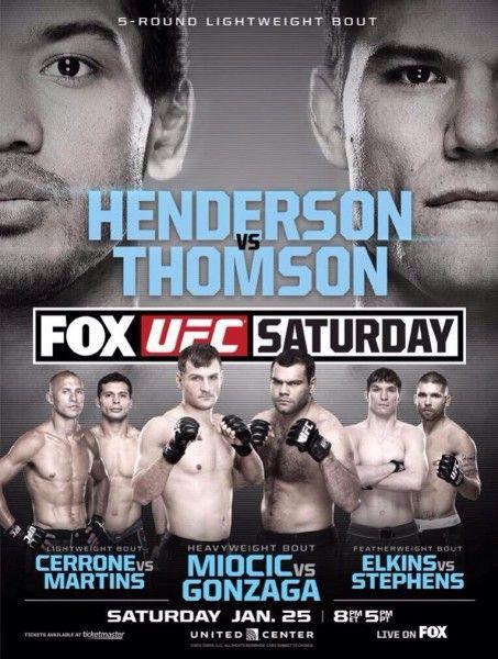 Henderson vs Thomson 453x600 UFC Fight Night : Benson Henderson x Josh Thomson Ao Vivo