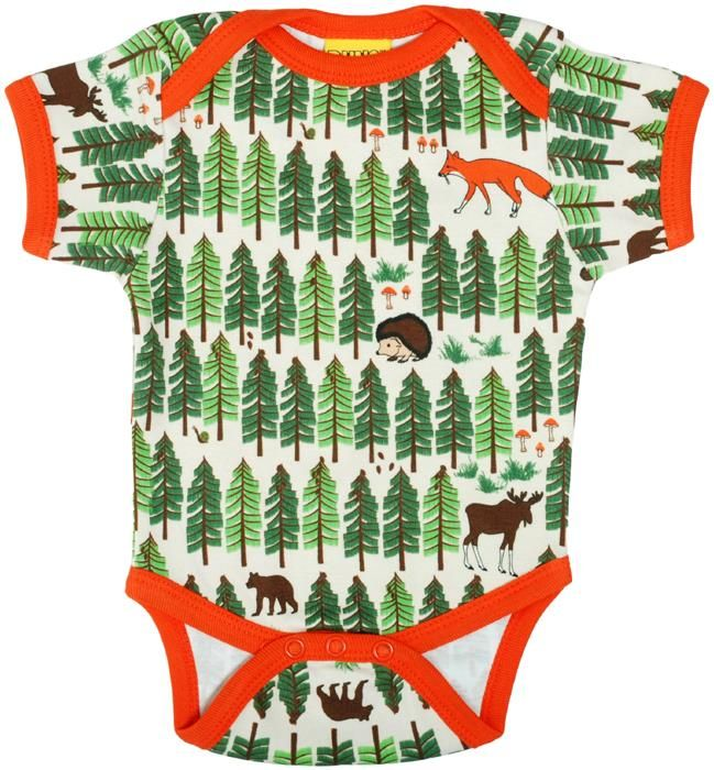 Duns s/s bodysuit - Forrest Life Retro Baby Clothes - Baby Boy clothes - Danish Baby Clothes - Smafolk - Toddler clothing - Baby Clothing - Baby clothes Online