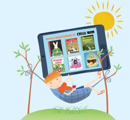 De VakantieBieb is weer open. Ook deze zomer kun je weer gratis e-books lezen op je tablet of smartphone. Je vindt deze boeken in de app VakantieBieb. Je kunt de app gratis downloaden. Kies een boek, zet het in je boekenkast en je kunt lekker lezen. Of je nu op vakantie gaat of lekker thuis blijft, zo kom je de vakantie wel door.
