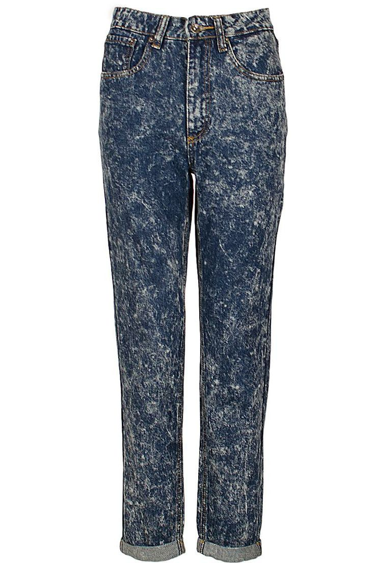 Womens Mom Jean Denim Dark Blue Acid Wash Tapered High Waisted Jean 6 8 10 12 14 Use Discount code for 20% off