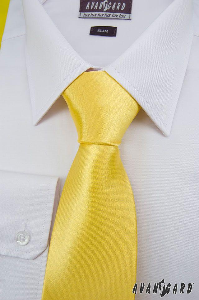 Žlutá inspirace nejen na svatbu / Yellow (wedding) inspiration  Pánská kravata / Men's tie