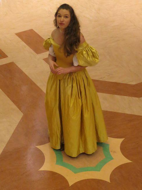 Portfolio: 1660s dress for Ninon de l'Enclos - The Dreamstress