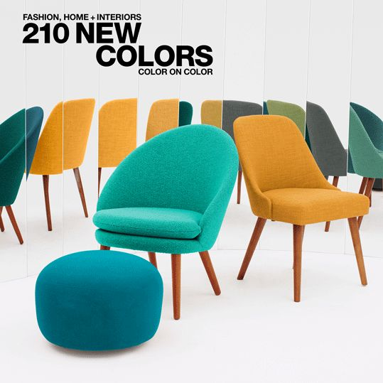 210 New Colors, for #Fashion, #Home & #Interiors. Get new #Trends and #Color #Ideas from Design Info.