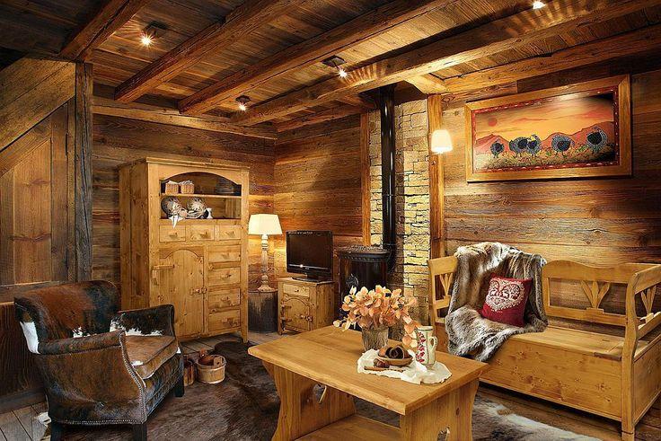 Mobilă rustică produsă la noi în țară în stil alpin elvețian