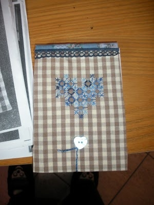 blocco notes broderie suisse