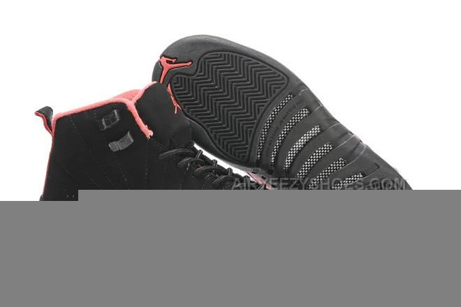 www.airyeezyshoes... WOMEN AIR JORDAN 12 RETRO(GS) BLACK/SIREN RED/PINK SHOES 28051 Only $72.00 , Free Shipping!