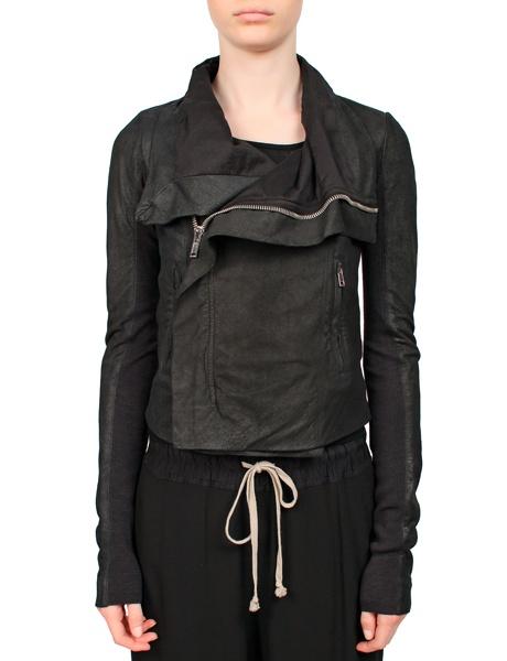 Rick Owens Leather Jacket Black from MRS H   HANDPICKED DESIGNER FASHION, SKIN CARE & PERFUME