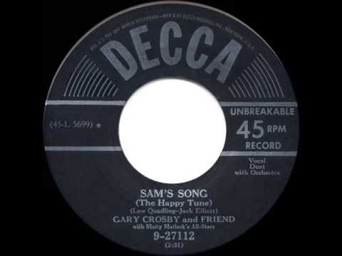 1950 HITS ARCHIVE: Sam's Song - Bing & Gary Crosby