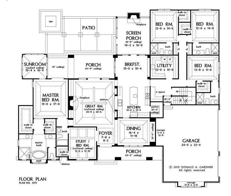 The Harrison House Plan - Basement Stairs FAVORITE
